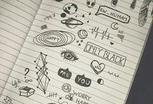 lines / doodles