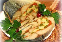 еда из рыбки