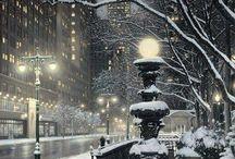 christmas city lights