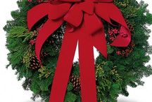 Holiday Wreaths, Poinsettias, and Plants / http://www.blossomflower.com/christmas-flowers-yonkers-white-plains/
