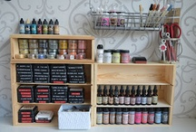 organizing ideas  / clever organizing ideas for my craftroom