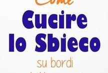 CUCIRE LO SBIECO