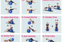 Gym ball workout / Core training