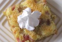 Pops rhubarb cake