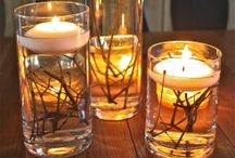 Candles/ Lighting / by Cheri Jozwiak