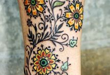 Tattoos / These are filled with the beauty of body art.
