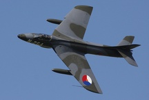 Hawker Hunter / The Hawker Hunter is a subsonic British jet aircraft developed in the 1950s. The single-seat Hunter entered service as a manoeuvrable fighter aircraft, and later operated in fighter-bomber and reconnaissance roles.