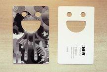 tarjeta de visita / modelos de tarjeta que sirven de inspiración