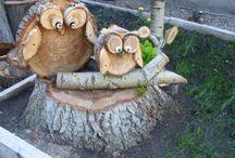 Arts créatifs en bois