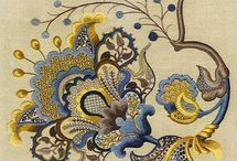 Jacobean/crewel & Royal school of embroidery