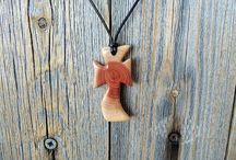Small crosses, pendants, key chains, bookmarks for bibles, and other small cross ideas