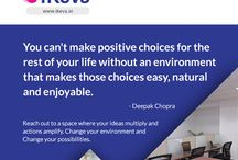 Inspiring Quotes / Quotes that expand your space. www.ikeva.in