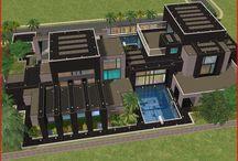 Sims huizen