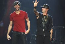 Enrique and Wisin