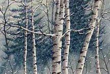 Лес,деревья