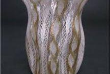 Latticino Glass / Art glass items
