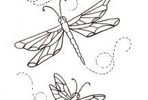 Ważki i motyle