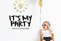 SS1516 It's My Party / Pretty Brave SS1516 Collection It's My Party!   See all items online: http://www.prettybrave.com/collections/all
