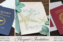 Custom Paper Works Wedding Invitations