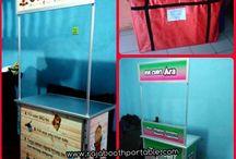 booth portable / Raja Booth Portable Spesialis produksi booth portable sejak tahun 2012. Silahkan kunjungi website kami untuk informasi lengkap dan update produk terbaru kami. www.rajaboothportable.com