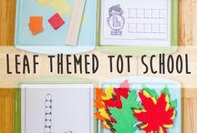 October Tot School