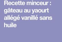 Gâteaux au yaourt allégée