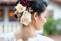 Bridals hairstyle (прически для невест)