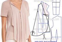 blusas asimetricas