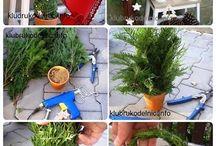 Lav selv jule træ / Jule træ