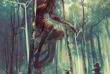 Angelarium / All pins on This board are from page: anglarium.net -  Art by Peter Mohrbacher