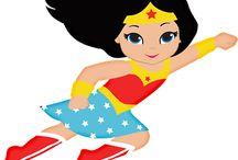 Fiesta supergirl y superman