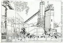 Industrial Skech