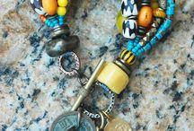 African bone beads idea