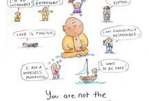 buddha doodles <3