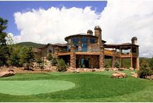 Mountain Rustic Living / This home is in a truly secluded setting with extraordinary panoramic views that create the perfect atmosphere for outdoor living.  Find us at coloradodecks.com/