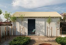 SHEDS & GARAGES / Sheds and garage doors should also be a considered part of your master plan.