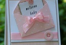 baby envelope card