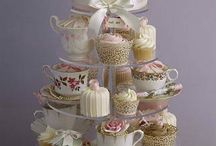 Tea party / Cakes and Food