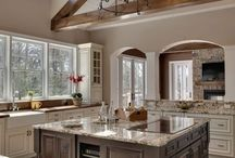 Gorgeous Kitchens / Some gorgeous kitchen inspiration from our own Villas and then some from dream kitchens around the globe