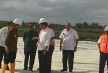 Tinjau Pembangunan Tol Indralaya-Palembang, Presiden Jokowi: Tahun 2017 Selesai