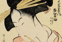 Japan engraving