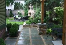 Backyard paving ideas