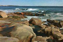 hav och klippor