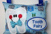Tooth Fairy Pillows / Sugar Sandwich Design Studio Tooth Fairy Pillows