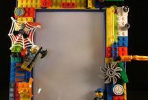 trabalhos feito com legos