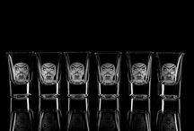 Crânes mexicains / Découvrez notre collection créative se composant de verre à bière, shooters, carafes. Une très bonne idée de cadeau personnalisé !!