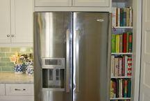 kitchen - fridge adjacent