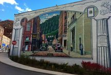 WV Murals and Art / Art can be found everywhere you look in WV. We truly have talented folks