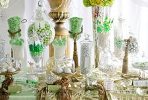 Colour Me // Green / Green inspiration for weddings...