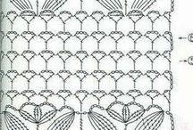 crochet diagrams / schemi punti crochet